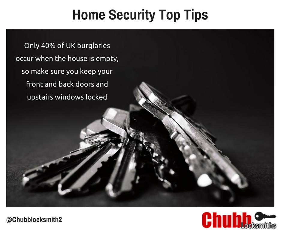 summer home security tips